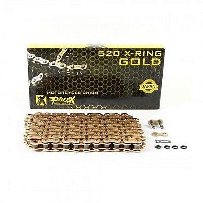 CORRENTE 520X120 C/ RETENTOR DOURADA PROX