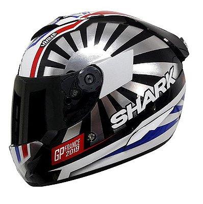 Capacete Shark Race-R Pro Zarco GP France 2019 KUR