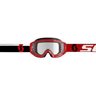 Óculos SCOTT Hustle X MX - Vermelho