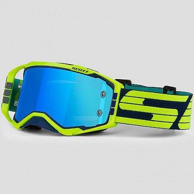 Óculos Scott Prospect - Azul/Amarelo