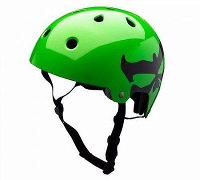 Capacete Kali Maha Logo - Verde Neon