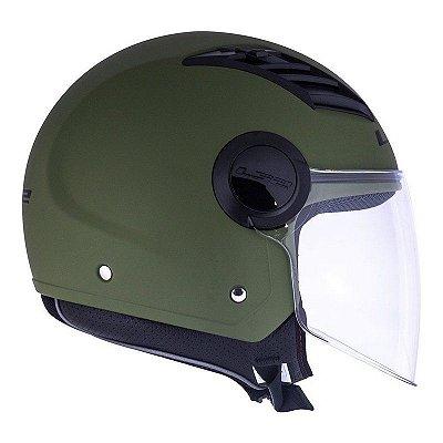 Capacete LS2 OF562 Airflow - Verde Militar Fosco