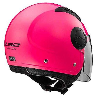 Capacete LS2 OF562 Airflow - Rosa
