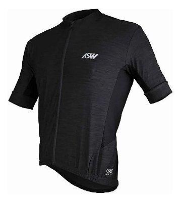 Camisa ASW Essentials Preta