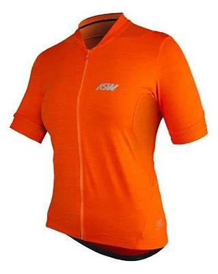 Camisa ASW Essentials Feminina Laranja