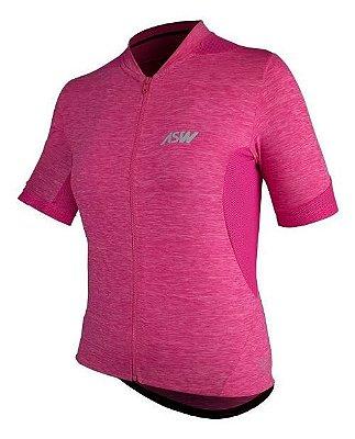 Camisa ASW Essentials Feminina rosa