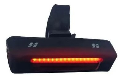 Vista Light Lanterna Led Traseira Usb Bike 4 Funções Oferta