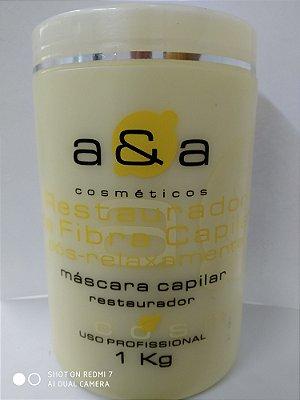 Máscara Restauradora de Fibra Capilar