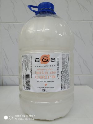 Shampoo Leite de Cabra