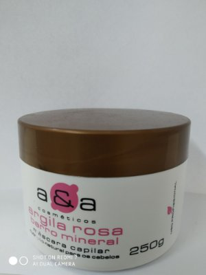 Máscara Argila Rosa