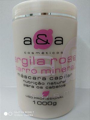 Máscara Argila Rosa 1Kg