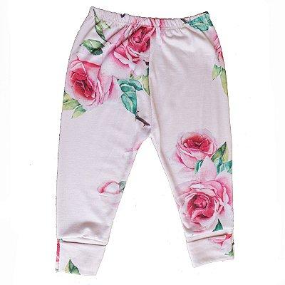 Calça - Floral Rosa (Pra Florir)