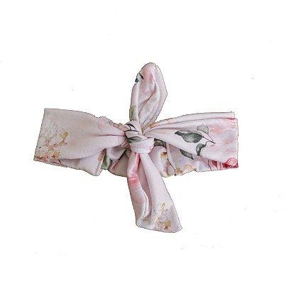 Faixa De Cabelo - Floral Rosa (Casulo)