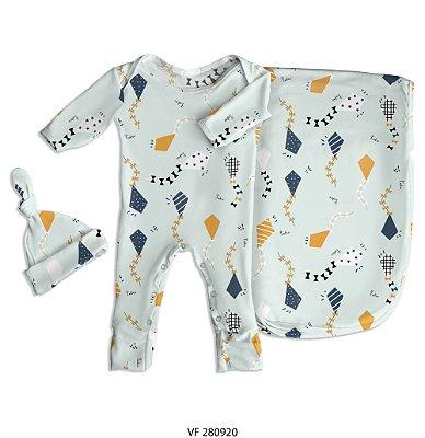Estampa pipa personalizada com o nome do bebê