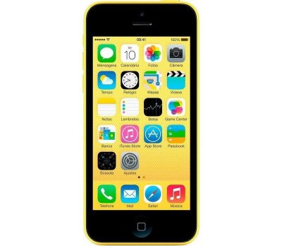 VITRINE: iPhone 5C 16GB Amarelo iOS 4G