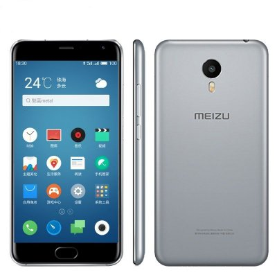 """Meizu M1 Metal X10 16GB Dual Tela 5,5"""" 4G"""