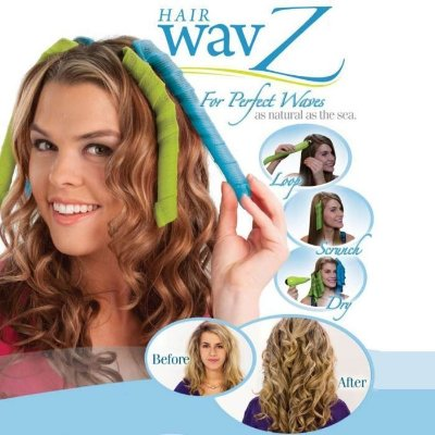 Modelador de Cachos Magic Hair Wavz