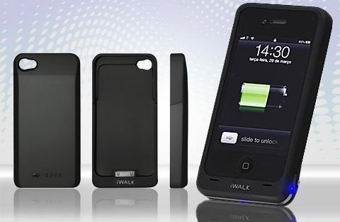 Capa Carga extra Para Iphone 4 e 4 S  .