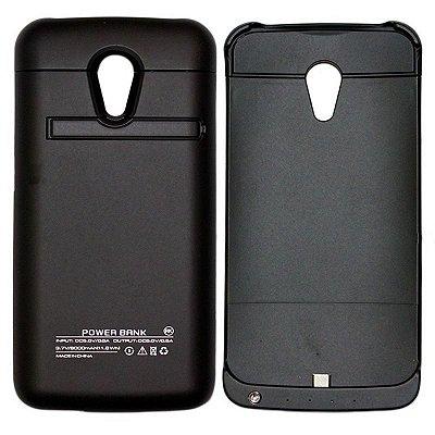 Capa Carregador Bateria Extra Moto G  8000mah