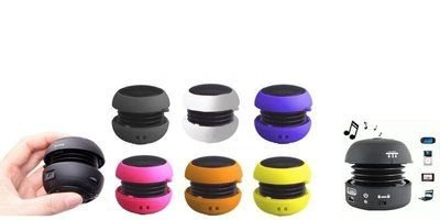 Mini Caixa De Som Portátil Usb Pequena Mp3 Mp4 Celular Ipod ( CORES SORTIDAS)