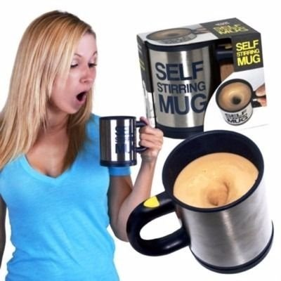 Caneca Automatica misturadora  380ml Self Stirring Muc .Assista o Video !