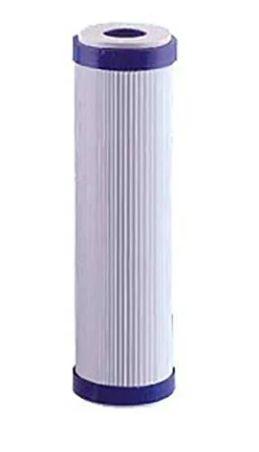 "Elemento Filtrante Carvão Ativado (BLOCK) 1/5/10 Micron 10"" X 2,5"""