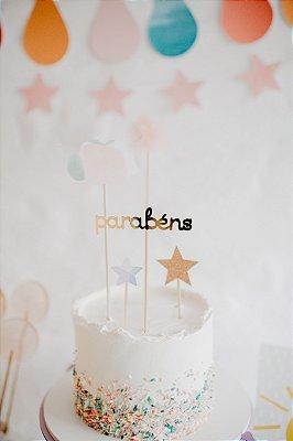 mini festa arco-iris