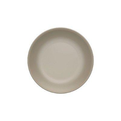 Prato Sobremesa 20cm Clean Cinza - Corona