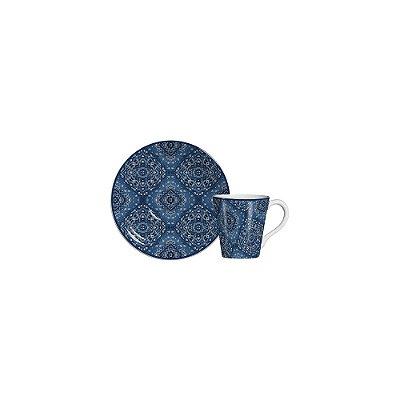 Xícara De Chá Bandana - Cerâmica Scalla