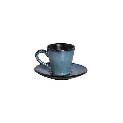 Xícara De Chá Planet Rf - Cerâmica Scalla