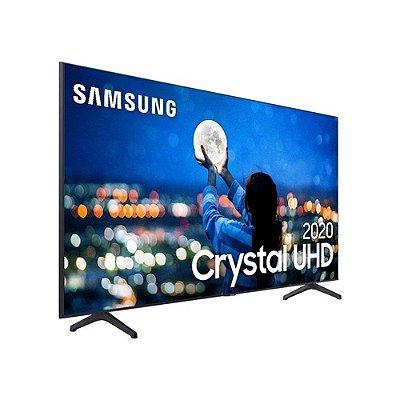 "Smart TV LED 50"" 4K Ultra HD Samsung UN50TU8000GXZD Comando de Voz Bluetooth"