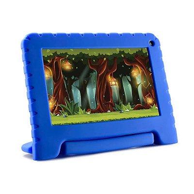 Tablet infantil KID PAD LITE 7 Polegadas 16GB Andoid 8.1 Wifi Bluetooth Azul Multilaser