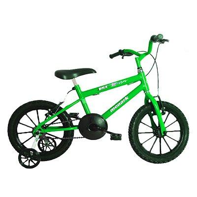 Bicicleta Aro16 BMX  VerdeKaw/Preto Monark