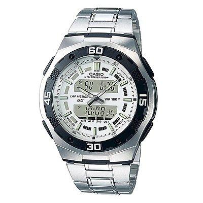 Relógio Masculino Analógico/Digital AQ-164WD-7AVDF Casio