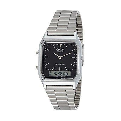 Relógio Analógico/Digital Social AQ-230A-1DMQ CASIO