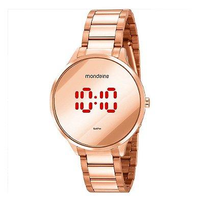 Relógio feminino 32060LPMVRE2 Rosê Mondaine