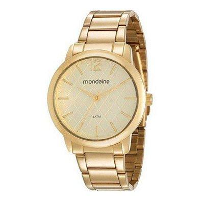 Relógio Femnino 76740LPMVDE2 Dourado Mondaine