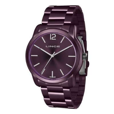 Relógio Feminino LRV4449L U2UX Roxo Lince