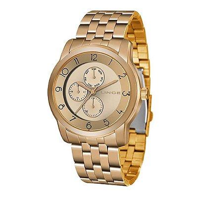 Relógio Feminino LMR4589L R2RX Rosegold Lince
