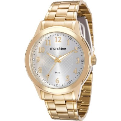 Relógio Feminino 83341LPMVDE1 Dourado Mondaine