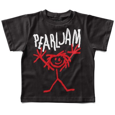 Camiseta Pearl Jam Handmade, Let's Rock Baby