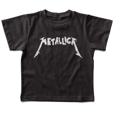 Camiseta Metallica Handmade, Let's Rock Baby