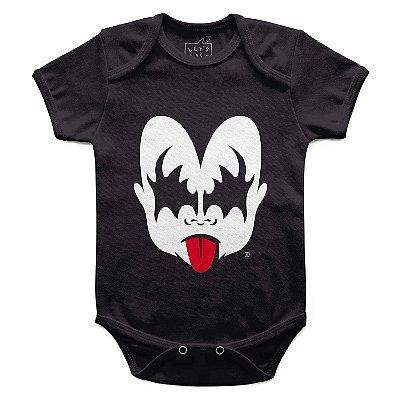 Body Bebê Kiss Menino, Let's Rock Baby