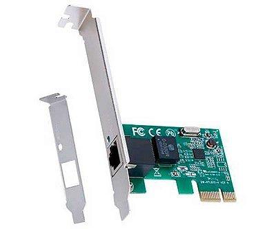 Placa De Rede 10/100 PCI-E PRV100E com Low Profile