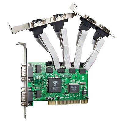 Placa serial PCI com 6 portas Seriais Comtac