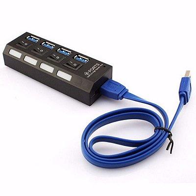 HUB USB 3.0  4 Portas