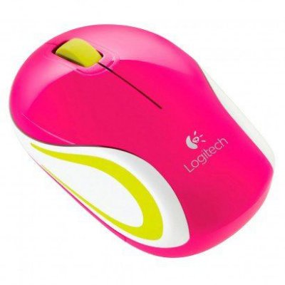 Mini Mouse Logitech Rosa M187
