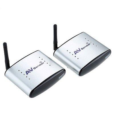 Transmissor E Receptor De Áudio E Vídeo Wireless AV