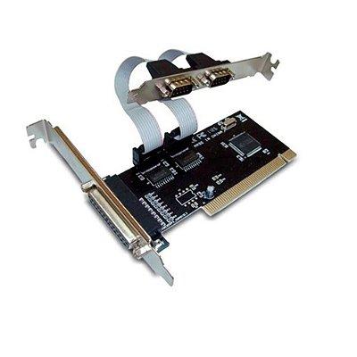 Placa PCI com 2 Portas Seriais + 1 Porta Paralela Multilaser - GA129