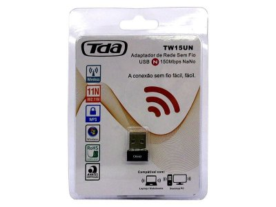 Adaptador Wireless Nano USB TDA